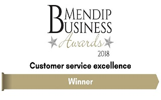 Jungle Property win Mendip Business Award for Customer Service Excellence