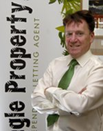 Tom Morgan, owner of Jungle Property, letting agents, Glastonbury